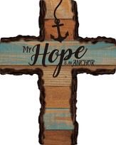 My Hope Is My Anchor Wall Cross