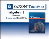 Saxon Teacher for Algebra 1, 4th  Edition on DVD-ROM
