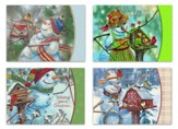 Snowmen Friends, Assorted Christmas Cards, Box of 12