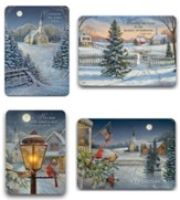 Headed to Church, Assorted Christmas Cards, Box of 12