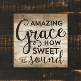 Amazing Grace, How Sweet the Sound Trivet, Large