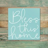 Bless This Home Trivet, Large