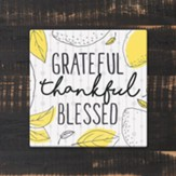 Grateful, Thankful Blessed Trivet, Large