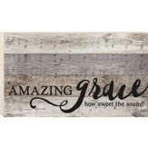 Amazing Grace, Pallet Wall Art