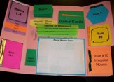 Nouns - Singular, Plural, & Irregulars Mini-Lapbook (Assembled)