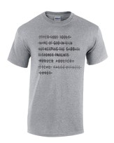 Top Ten Shirt, Gray, Medium
