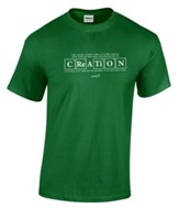 Creation Shirt, Green, Small