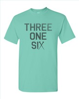 Three One Six Shirt, Green, Small