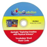 Apologia Exploring Creation With Physical Science (1st & 2nd Editions) Vocabulary Word Flash Cards PDF CD-ROM