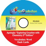Apologia Exploring Creation With Chemistry (2nd Edition) Vocabulary Word Flash Cards PDF CD-ROM