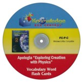 Apologia Exploring Creation With Physics Vocabulary Word Flash Cards PDF CD-ROM