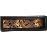 Be Joyful Always Shadowbox