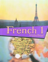 BJU French 1 Student Activities  Manual, Second Edition