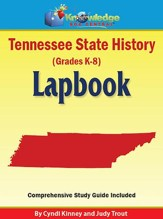 Tennessee State History Lapbook (Printed)