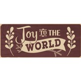 Joy To the World Plaque