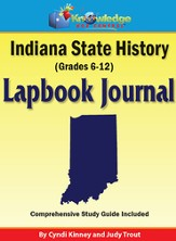 Indiana State History Lapbook Journal (Printed)