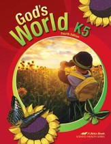 Abeka God's World--Grade K5