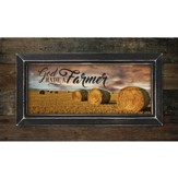 So God Made A Farmer, Pallet Framed Art