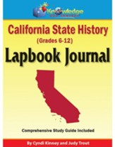 California State History Lapbook (Assembled)