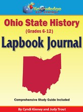 Ohio State History Lapbook Journal (Printed)