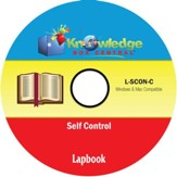 Self-Control Lapbook PDF CD-ROM