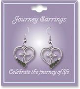 Journey Birthstone Earrings, August