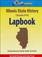 Illinois State History Lapbook  (Assembled)