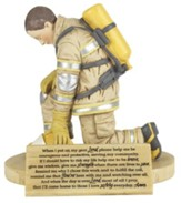 Firefighter's Prayer Figure