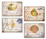 Thinking of You Cards, Sea Shells, Box of 12