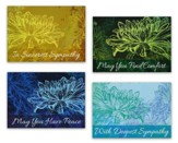 Sympathy Cards, Nouveau Florals, Box of 12