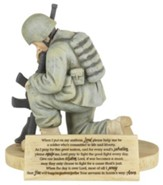 Soldier's Prayer Figure