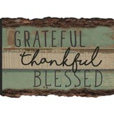 Grateful Thankful Blessed Magnet