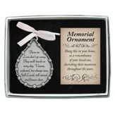 Those We Love Don't Go Away; Memorial Ornament