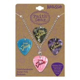Pick Jesus, Interchanging Necklace, Silver Chain