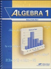 Abeka Algebra 1 Solution Key  (Updated Edition)