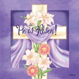 Easter, He Is Risen Napkins, Pack of 20