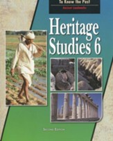 Heritage Studies Grade 6 Student Text (Updated Version)