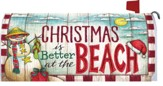 Christmas At the Beach Mailbox Cover