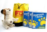 BJU K4 Footsteps for Fours Teacher's Edition Kit, 2nd Edition