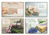 Pretty Packages, Birthday Cards, Box of 12