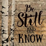 Be Still and Know Coaster, Small