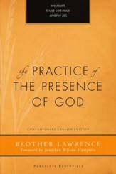 The Practice of the Presence of God [Paraclete Press, 2010]