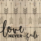 Love Never Fails Coaster, Small
