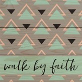 Walk By Faith Coaster, Small