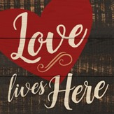 Love Lives Here Coaster, Small