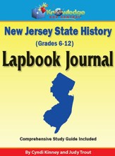 New Jersey State History Lapbook Journal (Printed Edition)