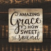 Amazing Grace How Sweet the Sound Coaster, Large