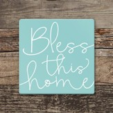 Bless This Home Coaster, Large