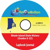 Rhode Island State History Lapbook  Journal PDF CD-ROM
