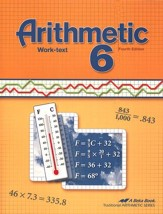 Abeka Arithmetic 6 Work-text, Fourth Edition